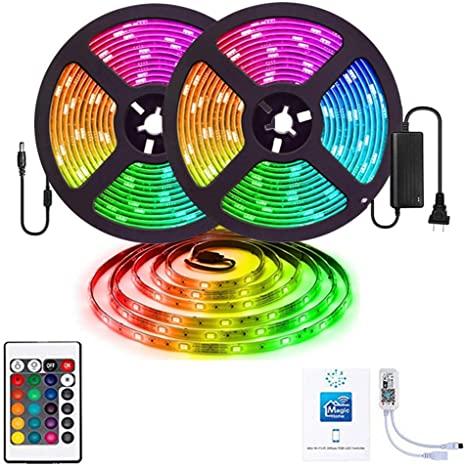 Tira Luces LED RGB con Control Remoto 10 metros
