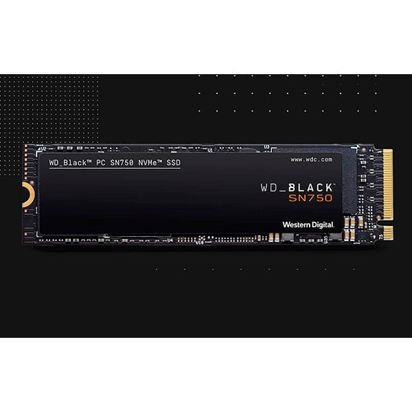 Western Digital Black SN750 NVMe 500GB SSD M.2 PCI Express 3.0